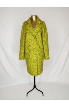 Пальто жёлтое кашемировое