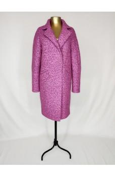 Пальто розовое кашемировое