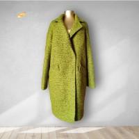 Пальто зелёное кашемировое