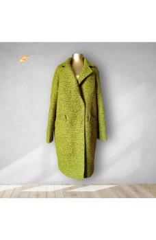 Пальто салатовое кашемировое